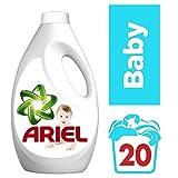 Ariel Baby Vollwaschmittel Flüssig, 1,1 L, 4er Pack (4 x 2 Waschladungen)