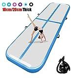 airtrack matte 10cm hoch 3M Aufblasbare turnmatte AirTrack Gymnastik Yogamatte Taekwondo Camping Trainingsmatte mit elektrischer Pumpe