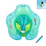 Baby Schwimmring Baby Float Schwimmreifen Mit Baby Schwimmsitz,Baby Schwimmhilfe Baby Schwimmen Ring, Aufblasbarer Kleinkind Kinder Schwimmreifen Schwimmbad Schwimmring für 3-12 Monate Baby(Stil A),S