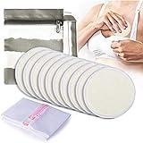 Bambus Stilleinlagen Waschbar Wiederverwendbar 10pcs, Momcozy Still-Pads für Brustwarzen, für Stillende Mütter, mit Wäschebeutel & Reisetasche (10cm)