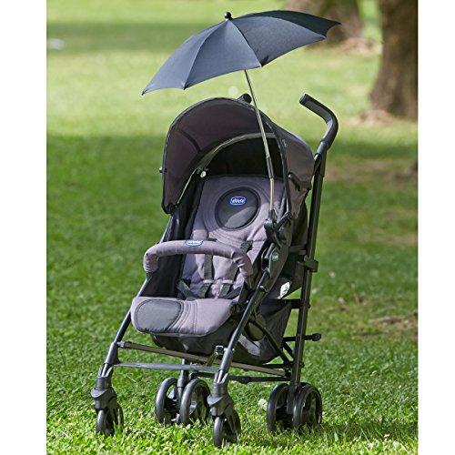 Chicco Sonnenschirm Fur Kinderwagen, schwarz