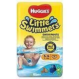 Huggies Little Swimmers Schwimmwindeln, Gr.5/6, 2er Pack (2 x 11 Windeln)