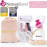 NatureBond - Manual Breast Pump Silicone Breastfeeding Milk Saver Nursing Pump