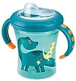 Nuk 10255283 Easy Learning Cup Fun, 200ml, Soft-Trinktülle, petrol