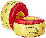 Cherek´s Kraulquappen 17cm für Fortgeschrittene rot/gelb Schwimmflügel Schwimmhilfe für Kinder