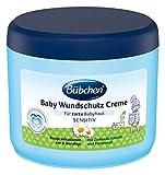 Bübchen Baby Wundschutz Creme, sensitive Wundheilsalbe, Wund- und Heilsalbe für zarte Babyhaut, mit Sonnenblumenöl und Kamille, Menge: 1 x 500 ml