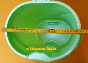 Rotho Babydesign Top Windeleimer: Test der Maße