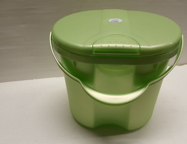 Rotho Babydesign TOP Windeleimer in lindgrün perl - Vorderansicht