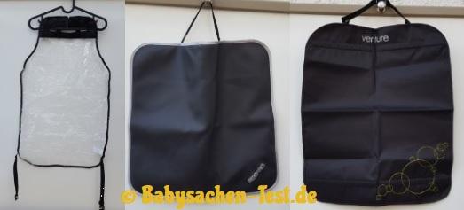 Auto Rückenlehnenschutz Test