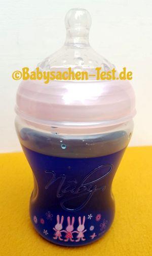 Babyflasche Nuby Test Abdichtung