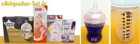 Babyflaschen Test & Vergleich