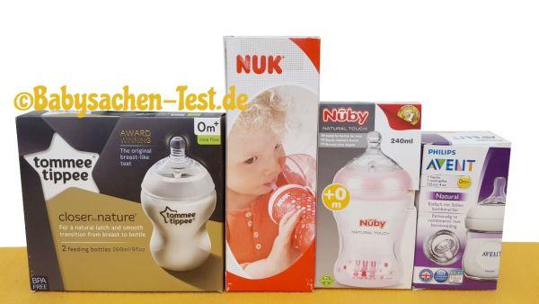 Test & Vergleich der 4 besten Babyflaschen