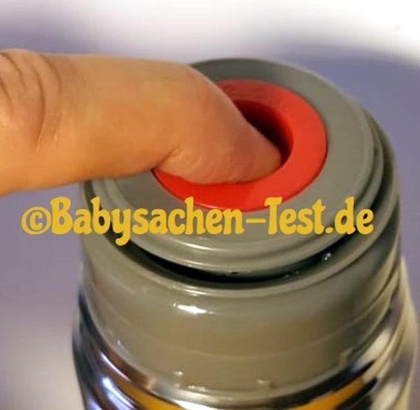 Edelstahl Thermosflasche Test