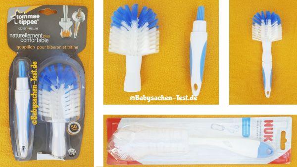 Munchkin FLASCHENBÜRSTE Reinigungsbürste Bürste für Babyflaschen