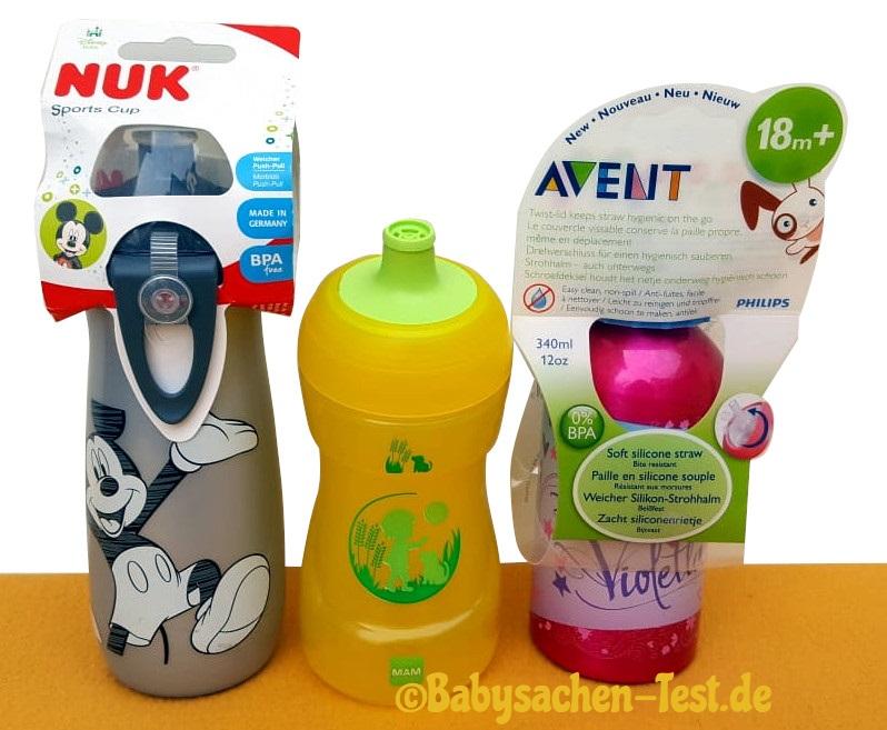Kinder Trinkflaschen im Test