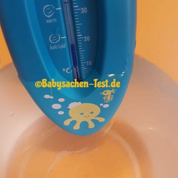 NUK Baby Badethermometer Test