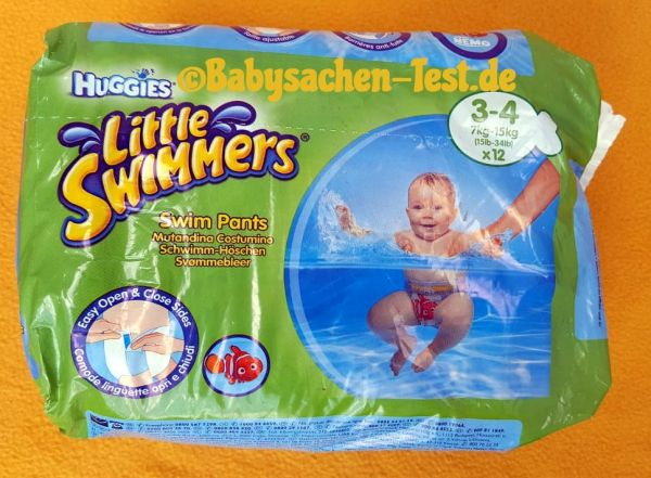 Huggies Little Swimmers Schwimmwindeln Test