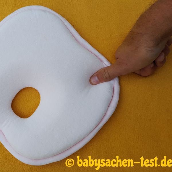 Babykopfkissen Test Plattkopf