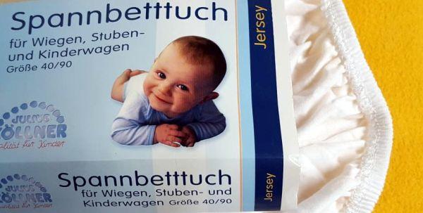 Spannbetttuch Julius Zöllner Babybett Test
